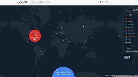 Google crea un mapa mundial de los propósitos del año | Noticias de tecnología | Scoop.it