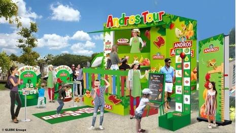 Andros et Globe groupe lancent le premier Food-Truck pour enfants | streetmarketing | Scoop.it