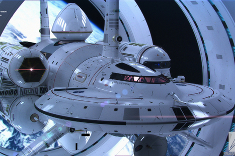 NASA's design for a warp drive spaceship is AMAZING (Science Alert) | It Used to be Science Fiction | Scoop.it