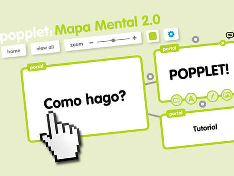 ¿Como hago un mapa mental 2.0? Aprendemos a usar Popplet - Portal Aprender | Marketing Digital | Scoop.it