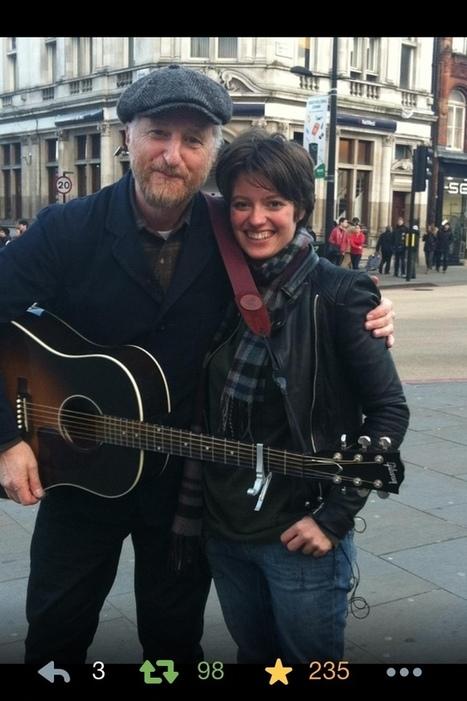 Busking with Billy Bragg in Camden! | STREET POP | Scoop.it