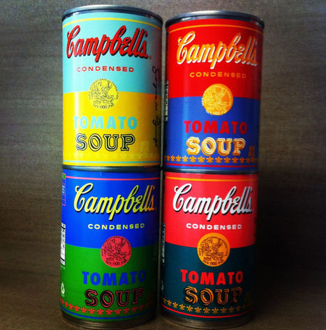Campbell's Soup Creates Limited-Edition Andy Warhol Cans | A New World | Scoop.it
