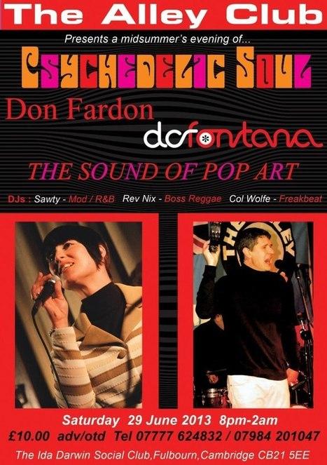 The Sound Of Pop Art / DC Fontana / Don Fardon | Facebook | CXLondon.Com | Scoop.it