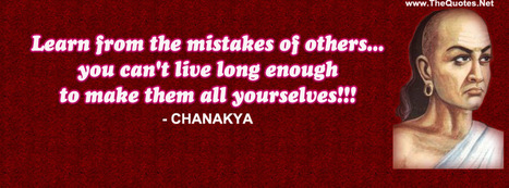 15 Great Thoughts By Chanakya | TheQuotes.Net - Motivational Quotes | Famous Inspirational Quotes | Scoop.it