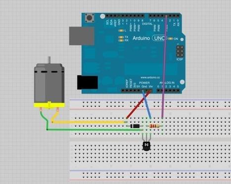 Lección 6 - Arduino - Motores CD Parte 1 | Electronica | Scoop.it