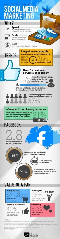 Social Media Marketing en Singapur /infografia. | Managing Technology and Talent for Learning & Innovation | Scoop.it