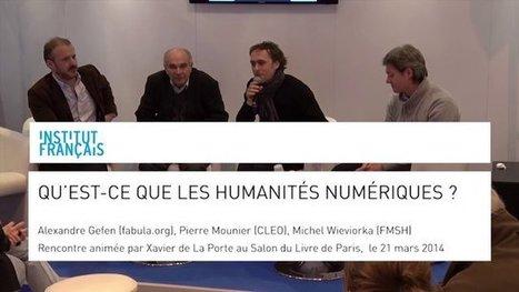 Qu'est-ce que les Humanités Numériques? | France Culture Plus | Actualités éducatives | Scoop.it