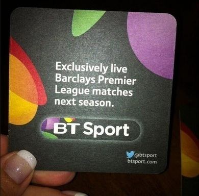 BT Sport offers digital beer mats to pubs and clubs | augmented reality examples | Scoop.it