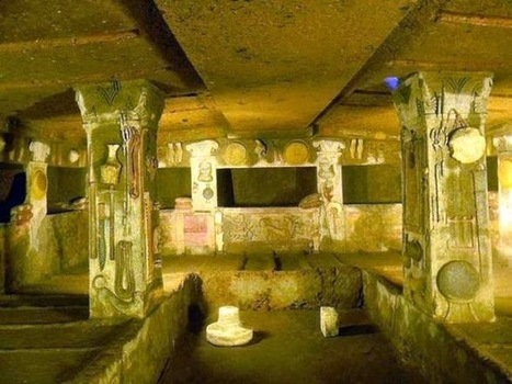 The Archaeology News Network: Cerveteri's Etruscan city of dead set to wow visitors | Teaching history and archaeology to kids | Scoop.it