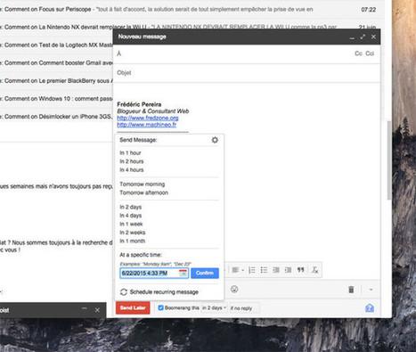 7 extensions à activer de toute urgence sur Gmail   Au fil du Web   Scoop.it