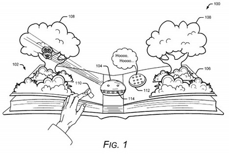 Google envisions delivery of AR elements to physical books | Post-Sapiens, les êtres technologiques | Scoop.it