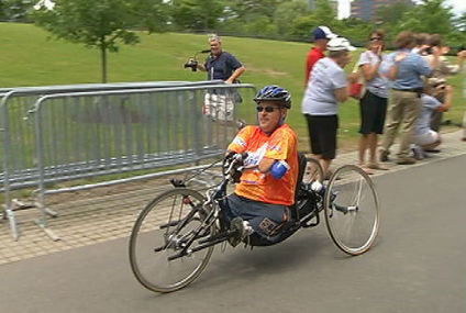 Physically challenged man bikes length of Erie Canal - WNYT | Indie Authors | Scoop.it