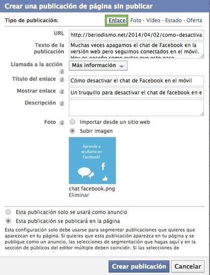 Cómo añadir un botón a las publicaciones de Facebook | beriodismo: el blog de @beagonpoz | redes sociales | Scoop.it