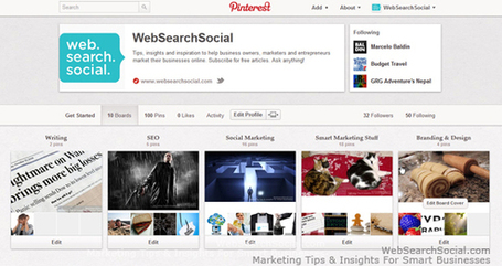 Get Started With Pinterest For Business | Social Media Marketing Strategies | Scoop.it