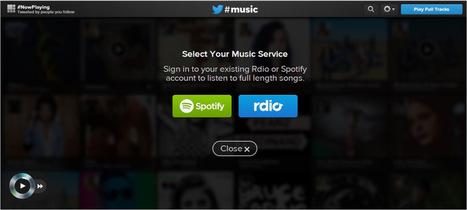 ¡Twitter Music ya está aquí!   Educación, Comunicación y Redes Sociales   Scoop.it
