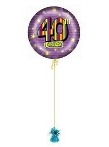 40th Birthday Balloons Rainbow | Birthday Gift Ideas | Scoop.it