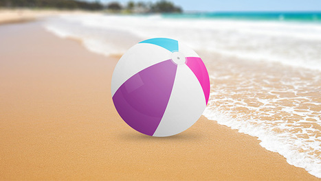 Learn how to create a colorful plastic beach ball in Photoshop | The Official Photoshop Roadmap Journal | Scoop.it