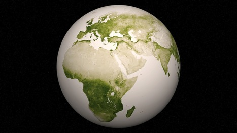 NOAA Environmental Visualization Laboratory - Green: Vegetation on Our Planet | Weather and Climate News | Scoop.it