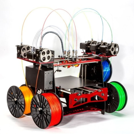 Exclusive Details: ORD Solutions' New MH3000 R2, 5 Color/Material 3D Printer Set to hit Kickstarter | Communication design | Scoop.it