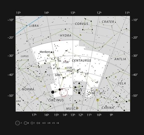 Astrofísica y Física: VLT detecta la mayor estrella amarilla hipergigante   astronomia   Scoop.it