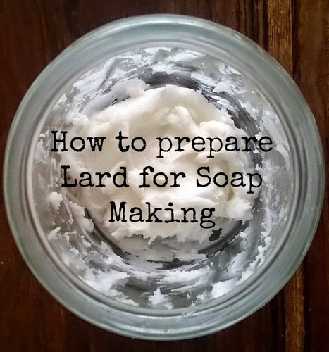 #HowTo Prepare Lard for #Soap Making   Soap Making Adventure   Scoop.it