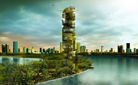 The Vertical Zoo: A wild greenery-wrapped tower that provides refuge for animalia | sustainable architecture | Scoop.it