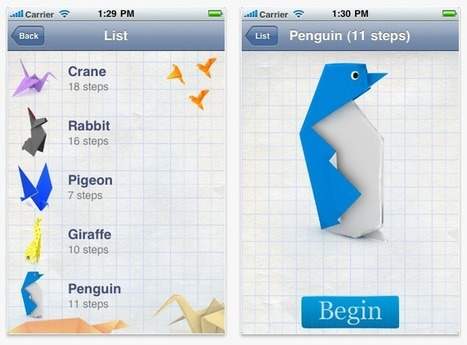 Free App of the Week: How To Make Oragami | the cupcravery | Scoop.it