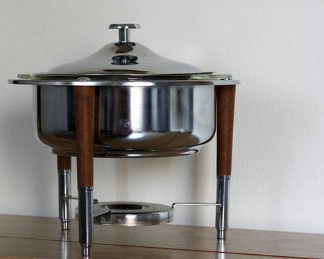 Mid Century Modern Dish, Food Warmer | Apartment Decorating | Scoop.it