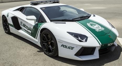 La police de Dubaï va patrouiller en ... Lamborghini | Un peu de tout et de rien ... | Scoop.it