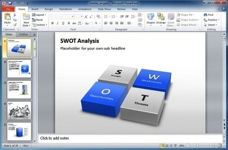 Charteo: Download PowerPoint Slides, Diagrams And 3D Graphics | PowerPoint Presentation | nicomox | Scoop.it