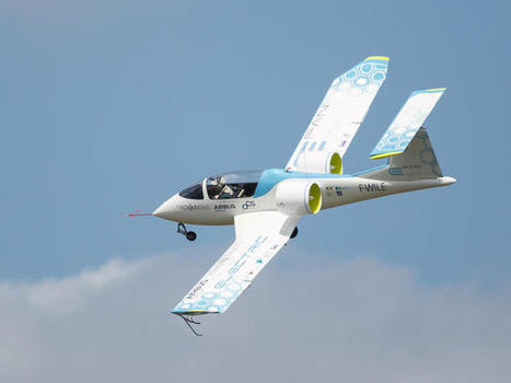 Airbus shows E-Fan, its electric plane due in 2017 | Digital Sustainability | Scoop.it