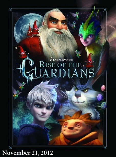 Second RISE OF THE GUARDIANS Poster | Animation News | Scoop.it