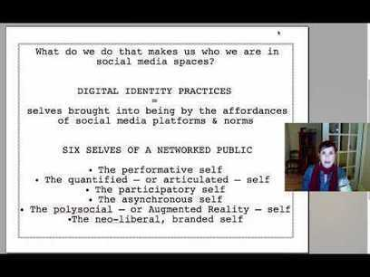 Digital Identities: Six Key Selves of Networked Publics | theory.cribchronicles.com | Informatics Technology in Education | Scoop.it
