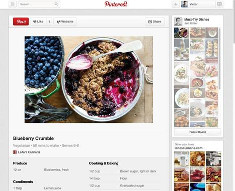 Pinterest Partners With Brands to Add Information to Pins | Pinterest for Business | Scoop.it