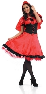 Ladies Red Riding Hood Fancy Dress Costume | Fancy Dress Ideas | Scoop.it