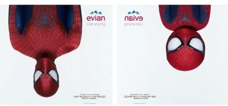 Spiderman dans le berceau d'Evian | Communication Commerciale | Scoop.it