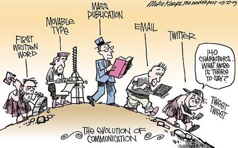 História da Comunicação - Reflexão sobre a evolução da comunicação ao longo da história. | Portefólio Ari | Scoop.it