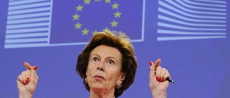 L'ex-commissaire européenne à la concurrence prise la main dans le pot de confiture | Econopoli | Scoop.it