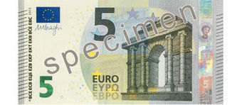 A quoi ressemble le nouveau billet de 5 euros ? - L'Express | Un peu de tout et de rien ... | Scoop.it