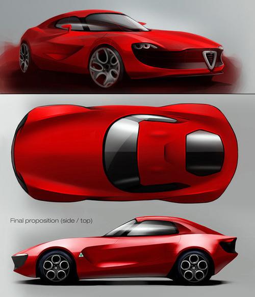 Concept Car By Vincent Montreuil