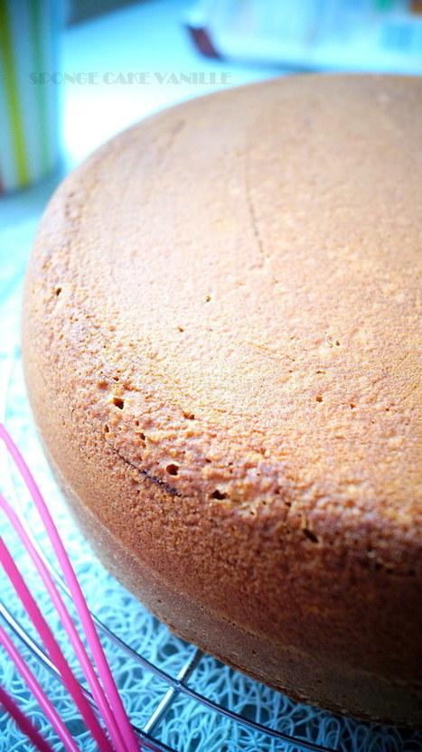 Recette Victoria Sponge Cake Vanille | Recette Dessert Gâteau & Cake | Scoop.it