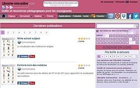 Librairie-interactive.com : des outils et ressources pédagogiques pour les enseignants | TUICE_primaire_maternelle | Scoop.it
