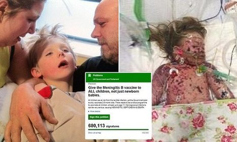 Nearly 700,000 sign petition calling for meningitis jabs for under-11s   Child Health and Safety   Scoop.it