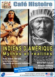 Indiens d'Amérique : mythes et réalités | Cafés Histoire | Scoop.it