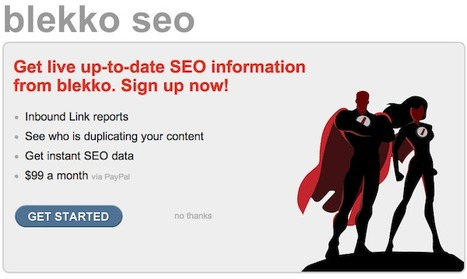 Blekko SEO Tools Now Costs $99/Month | Trends in Business Research | Scoop.it
