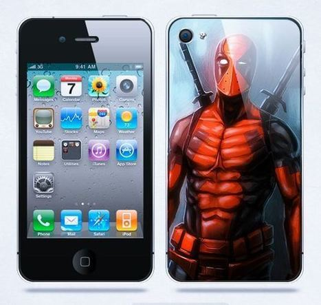 Deadpool iPhone protective case | Apple iPhone and iPad news | Scoop.it