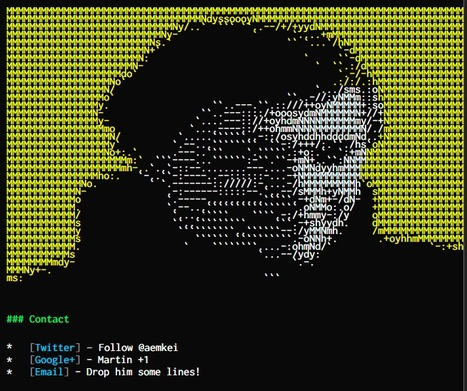 aem1k - JS Hacks & Creativity | ASCII Art | Scoop.it