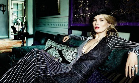 Kate Moss lands ANOTHER spot in Vogue as she poses in Istanbul with ... - Daily Mail | Monte Carlo Style | Scoop.it