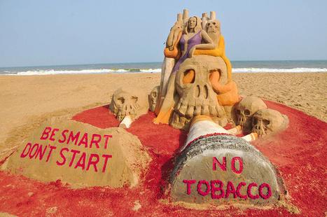 Anti-Tobacco Day, Sand artist Sri Manas Kumar Sahoo's Sand Sculpture spread awareness | Software | Scoop.it