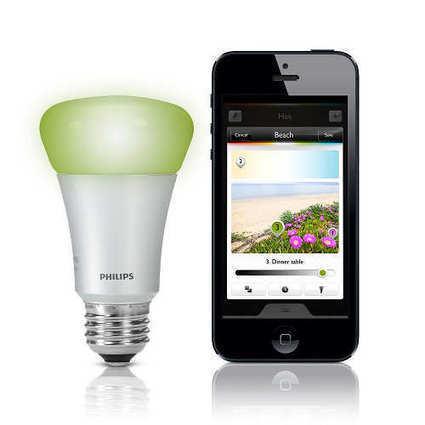 Philips HUE : des ampoules connectées à LED pour l'éclairage domestique | Domotique | Scoop.it